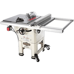 3 Fox W1837 Hybrid Table Saw