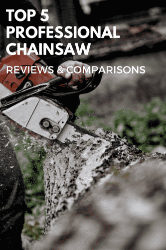 the 5 best professional chainsaw