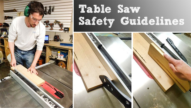 how to use table saw in safety way