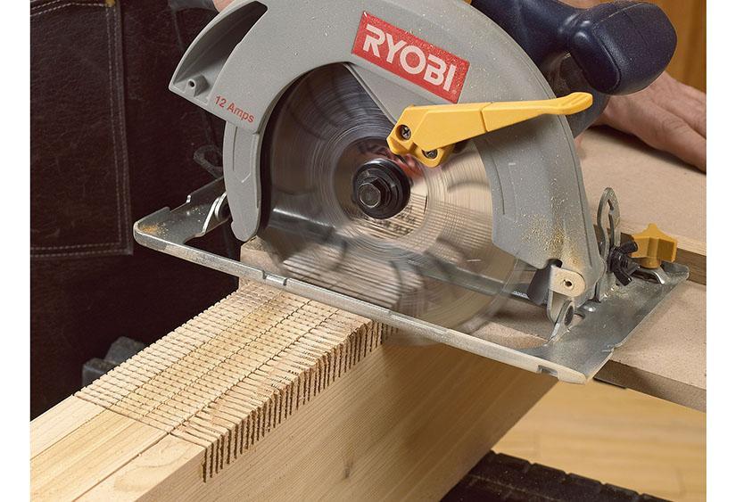 jointing a circular saw