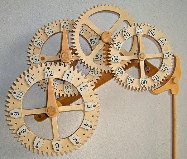 woodwork clocks