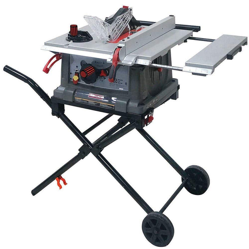 Craftsman Portable Table Saw Review