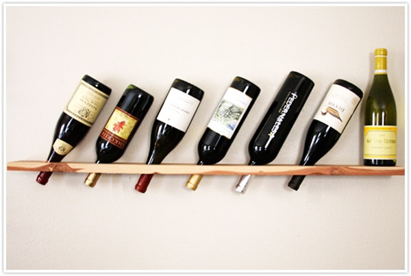 DIY Wooden Wine holder