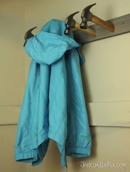 Hammer Coat Rack