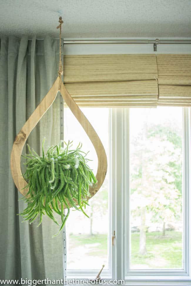 Mid-Century Inspired Plant Hanger