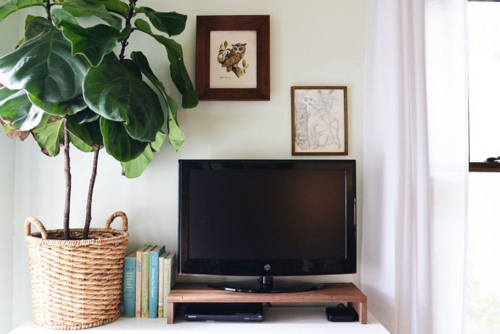 Wooden Media Box