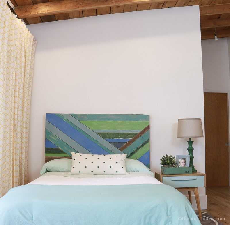 Pieced Wood Headboard Tutorial