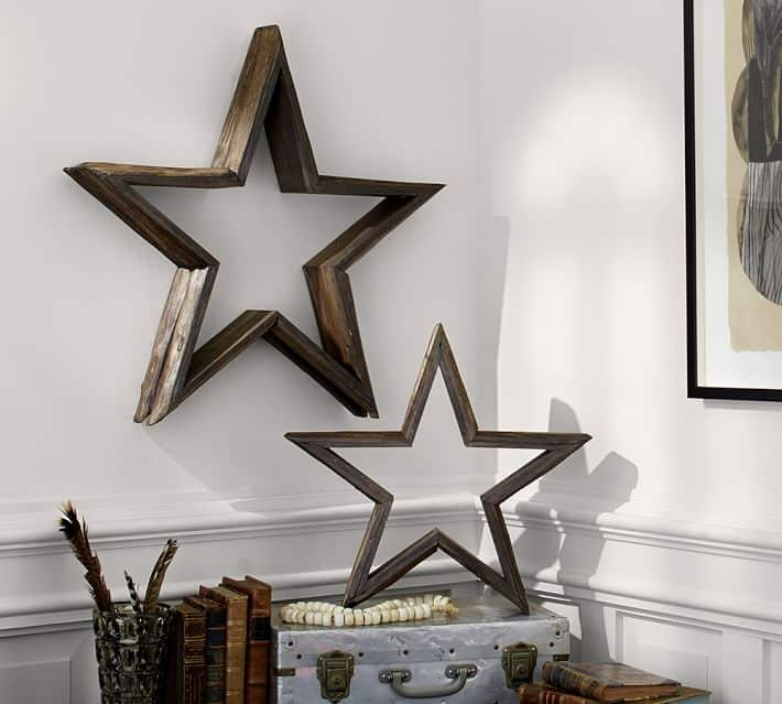 DIY Stars Using Wood Glue