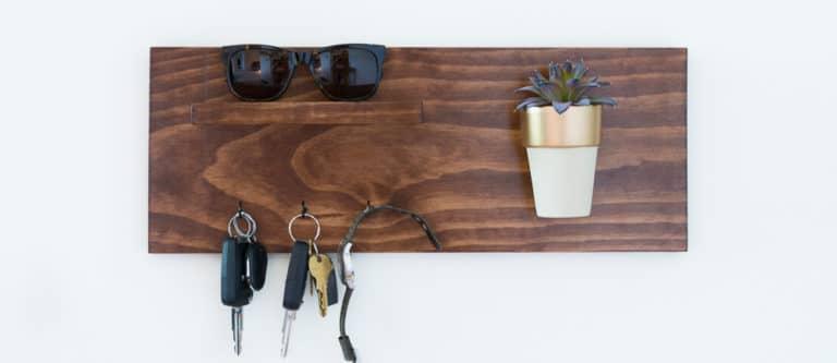 Wooden Keyholder