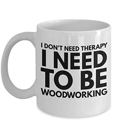 woodworking therapy cup