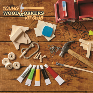 young woodworkers kit club