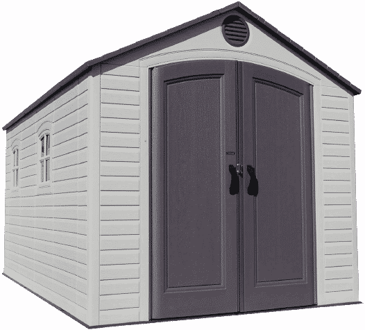 Office Shed Plan 8x12