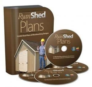 Ryan Shed Plans in CD