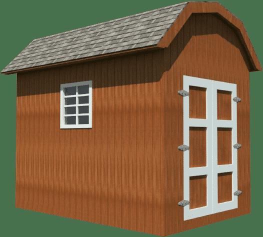 Storage Shed Plan DIY 8x12
