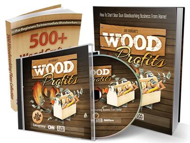 Wood Profits books and CD