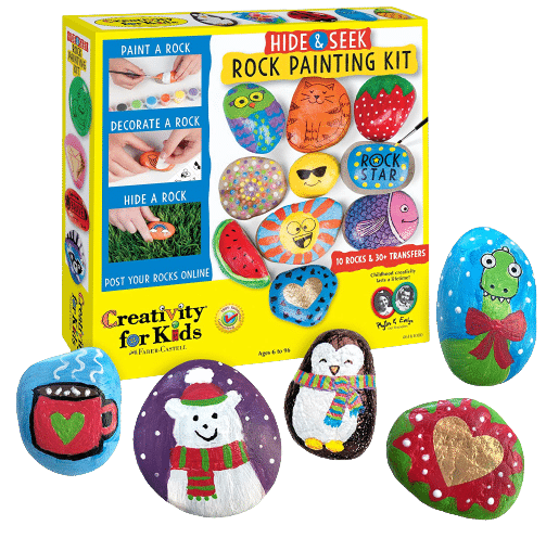 Creativity for Kids Rock Painting Kit