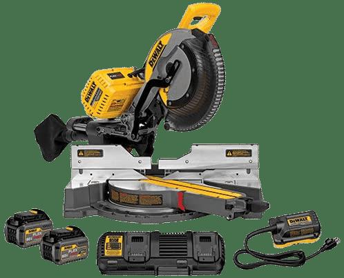 DEWALT FLEXVOLT 120V MAX Sliding Compound Miter Saw Kit