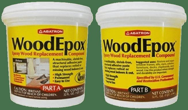 Abatron WoodEpox Epoxy Wood Replacement Compound