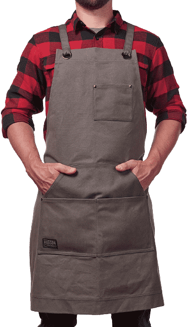Hudson Durable Goods - Heavy Duty goods waxed Canvas apron