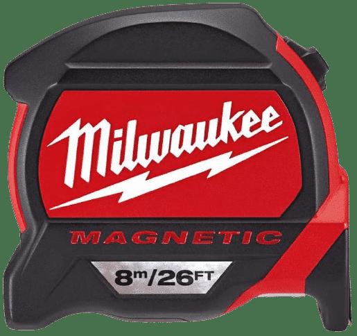 Milwaukee 48227225 HP8-26Mg/27 Magnetic Tape Measure