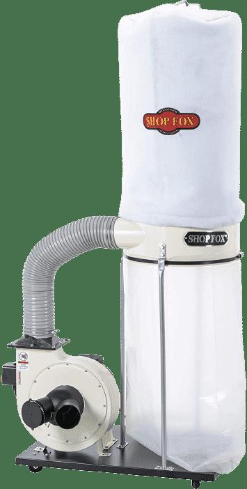 Shop Fox W1685 1.5HP 1,280 CFM Dust Collector
