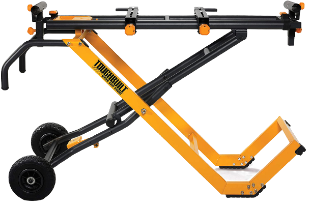 ToughBuilt - 10' Gravity Miter Saw Stand with Universal Tool Mounts