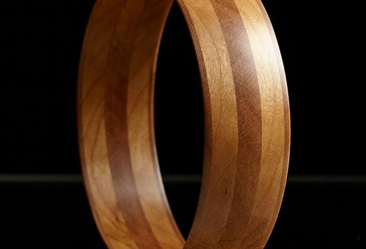 Free Elegant Hole Saw Bracelet Woodworking Plan
