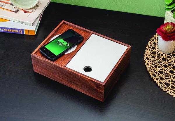 Phone Charging Dresser Valet Project Plan