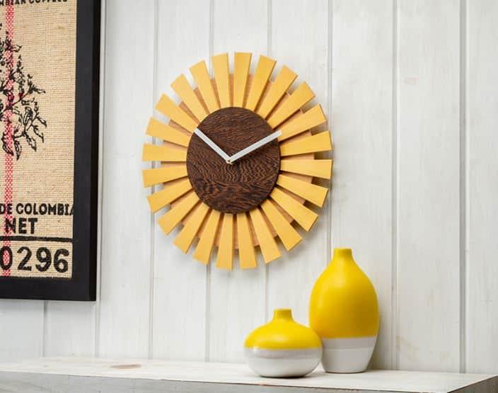 Sunflower Clock Plan