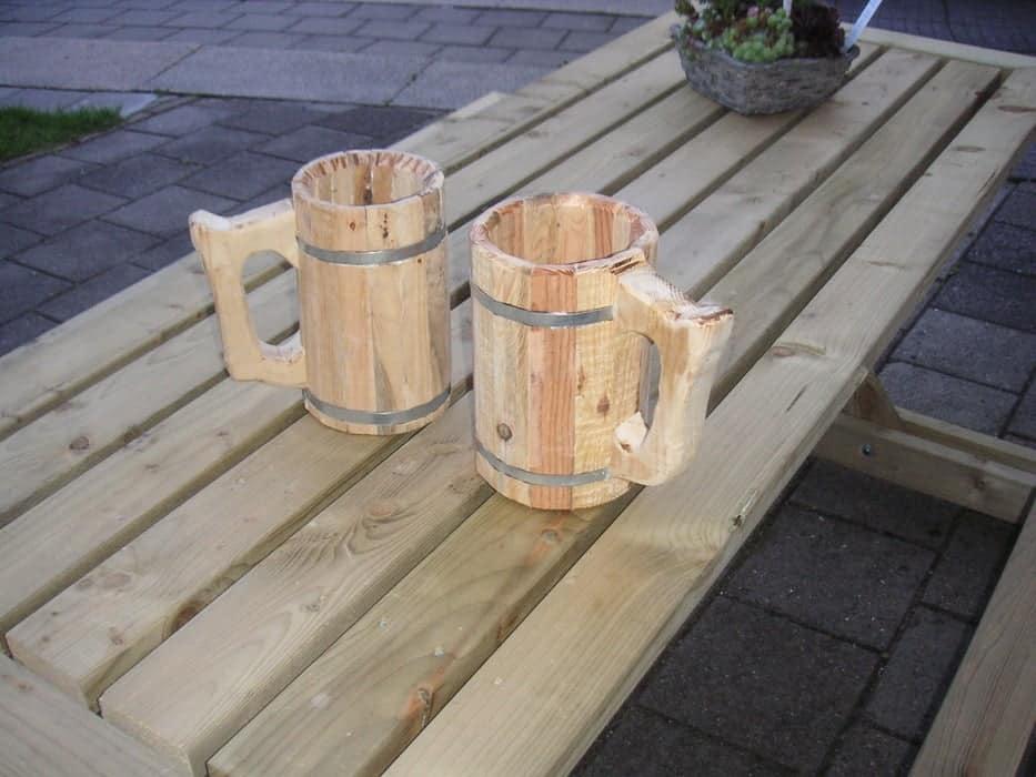Wooden Beer Mug Plan