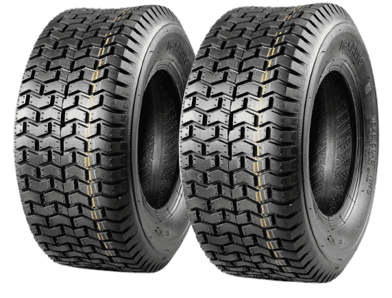MaxAuto 2 Pcs 16x6.50-8 Turf Tires For Lawn Tractor Lawn Mower No Background
