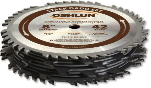 Oshlun SDS-0842 saw blades