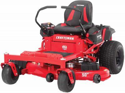 1 Craftsman Z525 Zero Turn Gas Powered Lawn Mower