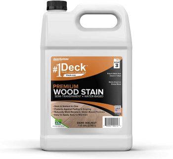 #1 Deck Premium Semi-Transparent Wood Stain