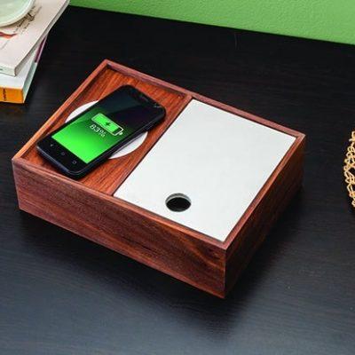 phone charging dresser