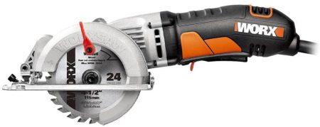 WORX mini orange circular saw