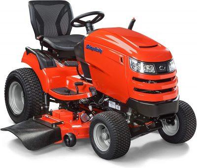 Simplicity Broadmoor Lawn Tractor Orange