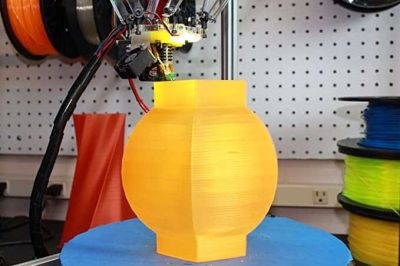 Autodesk Fusion 360 3D Printing in Yellow
