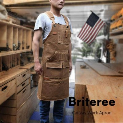 Briteree Woodworking Aprons - close up