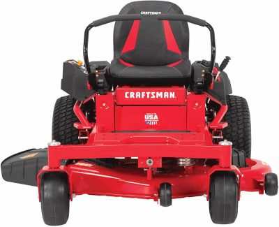 Craftsman lawn mower front view
