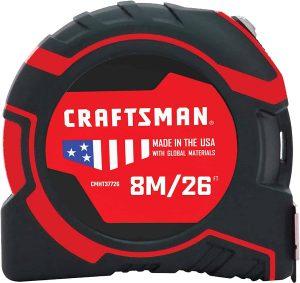Craftsman Tape Measure 26-Foot (CMHT37726S)