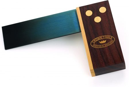 Crown Rosewood and Brass Mini Try Square