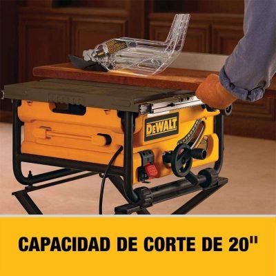 DEWALT 10-Inch Table Saw, 16-Inch Rip Capacity (DW745) - capacity