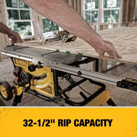 DEWALT 10-Inch Table Saw - close up