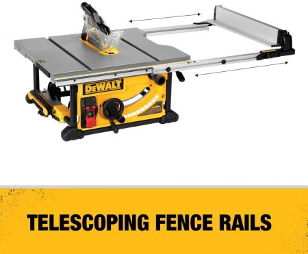 DEWALT 10-Inch Table Saw - side view