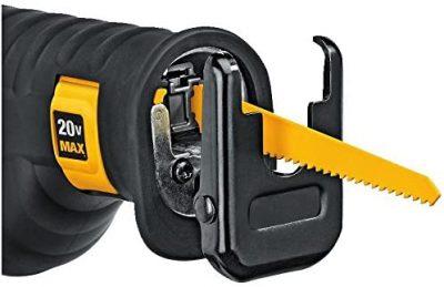 Yellow Blade of DeWALT reciprocating saw blade