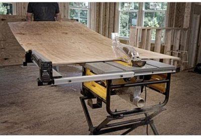 DEWALT DWE7480 10 in. Compact Job Site Table Saw