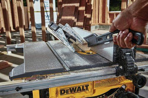 DEWALT DWE7485 Jobsite Table Saw - In action