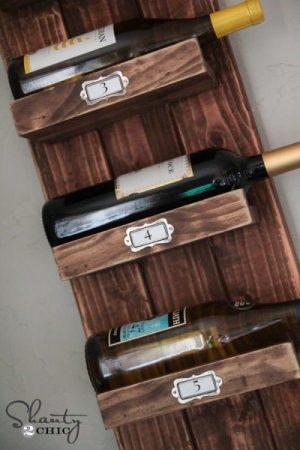 DIY Wine Racks