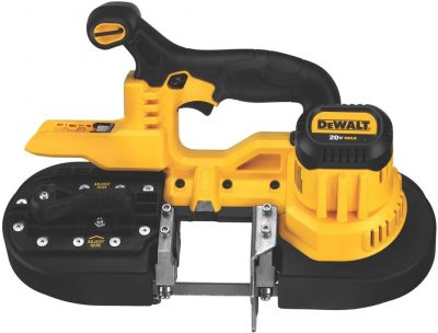 Dewalt 20V Max Band Saw in Black and Yellow